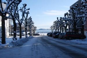 Kışın Kristiansand. kristiansand-norway.com
