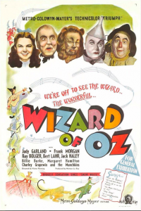 1939 Yapımı eşsiz bir film. Judy Garland'ın kırmızı yakut ayakkabıları hala hayalim.