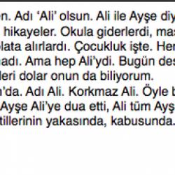 Ali'nin Ardından - Ayşe Şenyer