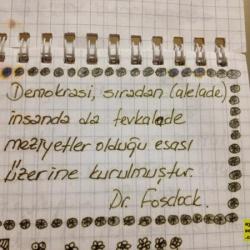 Demokrasi üstüne - Dr. Fosdick